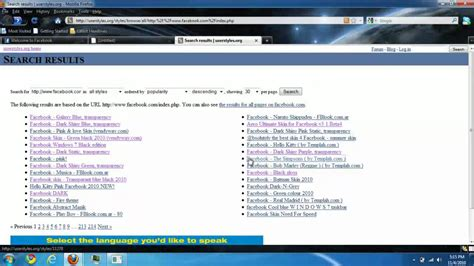 change themes on firefox how to change facebook theme firefox add on easy youtube