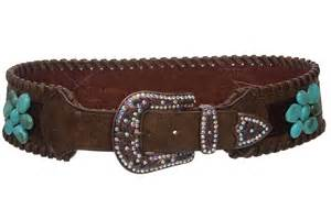 beltiscool 3 quot wide western contoured laced alligator