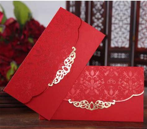 Undangan Pernikahan Ali 7 undangan lop merah promotion shop for promotional