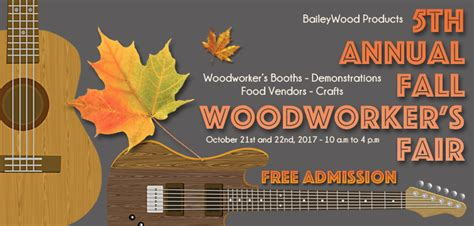 baileyfall woodworkers fair vendor list preview