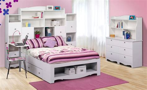 youth girl bedroom furniture nexera pixel youth full size tall bookcase storage bedroom