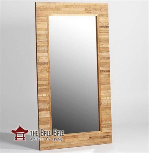 Cermin Kayu Jati cermin kayu jati ckj006 mebel jati minimalis mebel