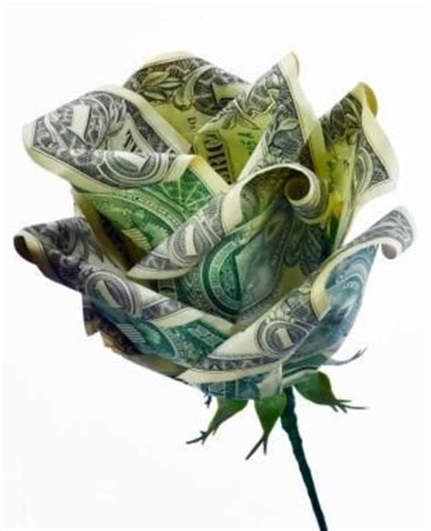 Origami Flowers Made From Money - 17 best ideas about money flowers on money