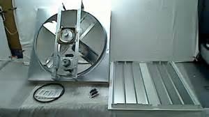 cool attic cx30bd2spd belt drive 2 speed whole house fan with shutter 30 inch ebay