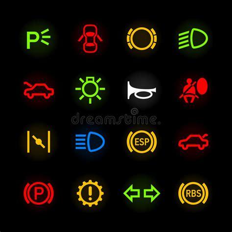 mitsubishi motors stock symbol car dashboard icons stock vector illustration of icon