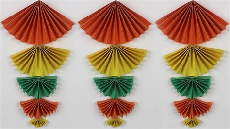 Hanging Origami Decorations - diy home decor origami idea new wall hanging crafts wall