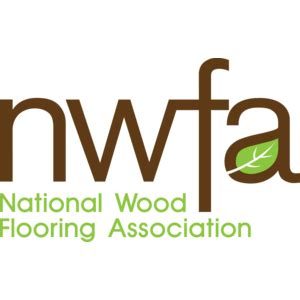 national wood flooring association logo vector logo of