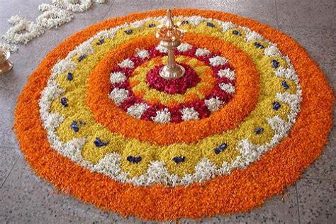 flower design in rangoli beautiful simple rangoli designs for diwali deepak