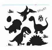 Dinosaur Silhouette Digital Clipart Clip Art Embellish
