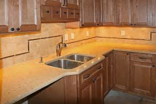 Kitchen Countertops Backsplash Kitchen Countertop Tile Ideas