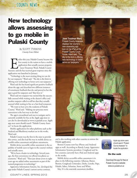 Pulaski County Property Records Pulaski County In County Lines Magazine Pulaski County Assessor