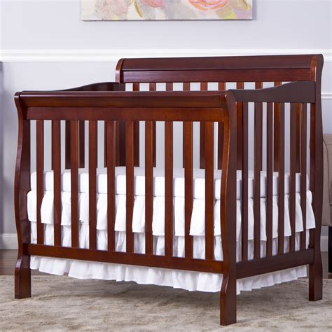 Convertible Mini Cribs On Me Aden 4 In 1 Mini Convertible Crib Reviews Wayfair