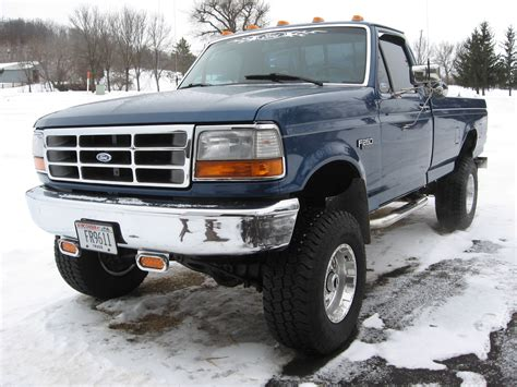 1995 F250 Specs 95f250lifted 1995 ford f250 regular cablong bed specs