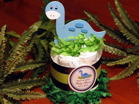 Dinosaur Baby Shower Theme by Baby Dino Dinosaur Cake Centerpieces Baby By
