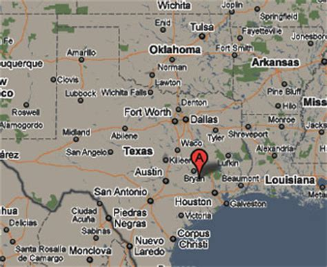 washington texas map sighting reports 2010