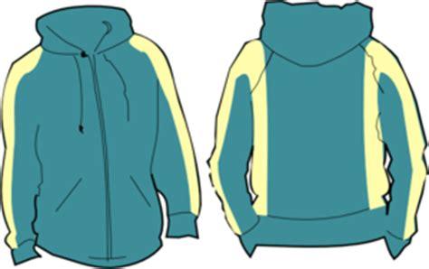 desain jaket hoodie zipper hoodie clip art at clker com vector clip art online