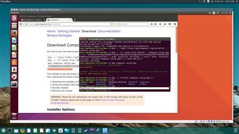 tutorial install laravel ubuntu installing laravel 5 3 in ubuntu 16 10 youtube