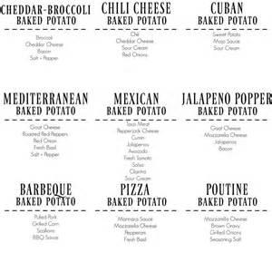Toppings For Potato Bar 17 Mejores Ideas Sobre Baked Potato Bar En Pinterest