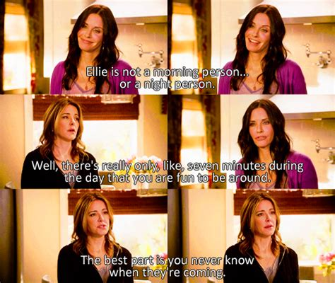 Cougar Town Memes - if karen walker and ellie torres had a dysfunctional baby