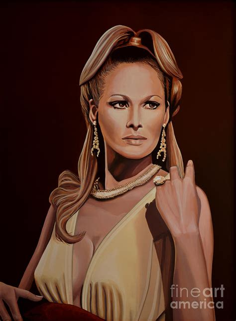 Art Decor For Home by Ursula Andress Painting By Paul Meijering