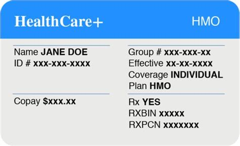 insurance card you taken a look at your health insurance