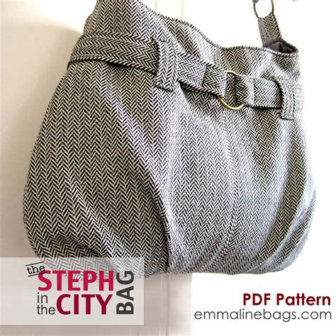 Sewing Pattern Purse | emmaline bags sewing patterns and purse supplies a new