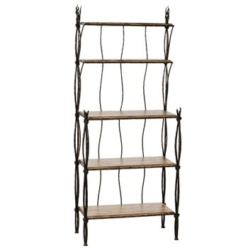 bakers rack with drawers walmart rush bakers rack 4 and 5 tier stone county ironworks