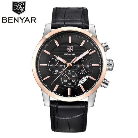 reloj hombre 2017 benyar mens fashion chronograph sport