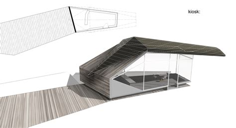 kiosk design competition rethink athens 2nd prize object e net
