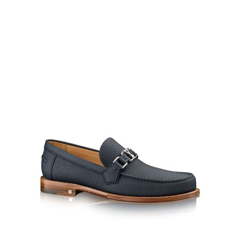 louis loafers louis vuitton major loafer in blue for marine lyst