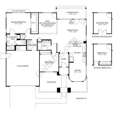 cantamia floor plans cantamia at estrella goodyear az floor plans models