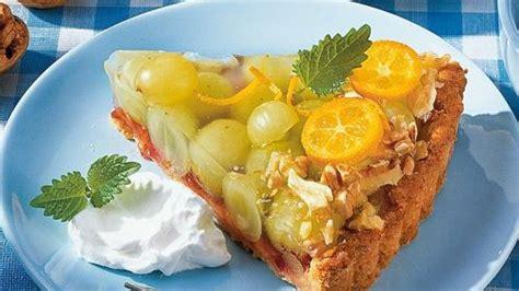 bild der frau rezepte kuchen trauben walnuss kuchen bild der frau