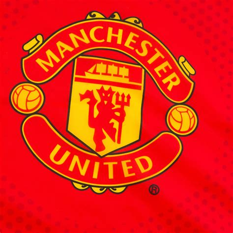 manchester united f c official manchester united fc official football gift 5x3ft crest body flag ebay