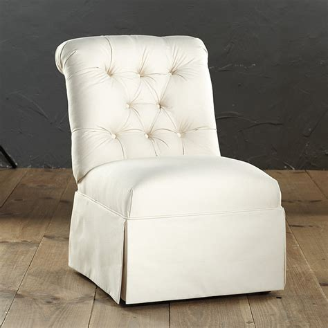 Tufted Slipper Chair Sale Design Ideas Row House Refuge The Chair