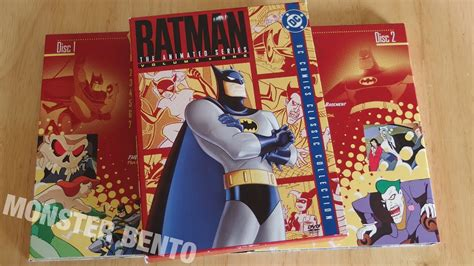 The Series Volume 1 batman the animated series volume one dvd unboxing