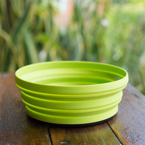 collapsible bowl sea to summit x bowl the collapsible bowl for travelling or cing