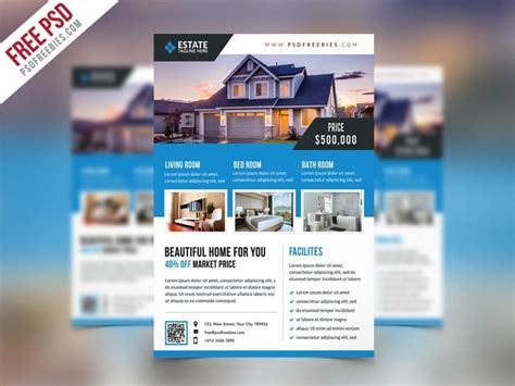Property Flyer Template Free by Best Free Flyer Templates Psd 187 Css Author
