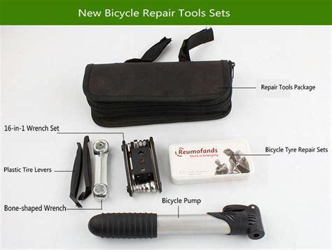 Perlengkapan Reparasi Ban Sepeda 1 perlengkapan reparasi sepeda tambal ban black jakartanotebook