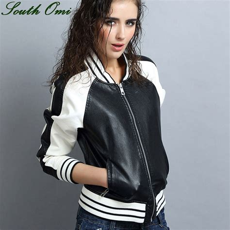 jaqueta de couro mulheres avalia 231 245 es shopping