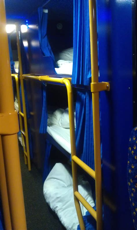 Sleeper Megabus a bed on a megabus sleeper service review runaway