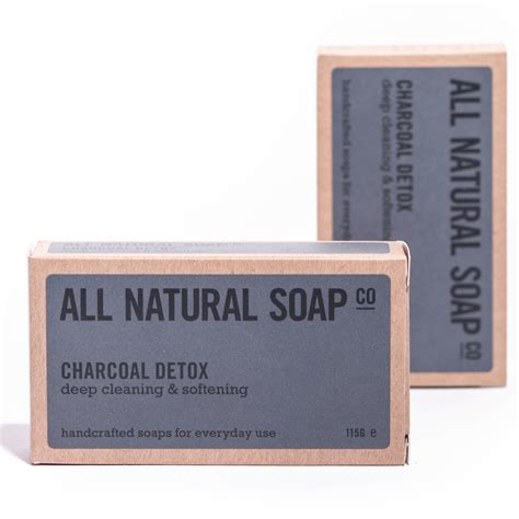 Charcoal Detox Soap by Charcoal Detox All Soap Co Award Winning