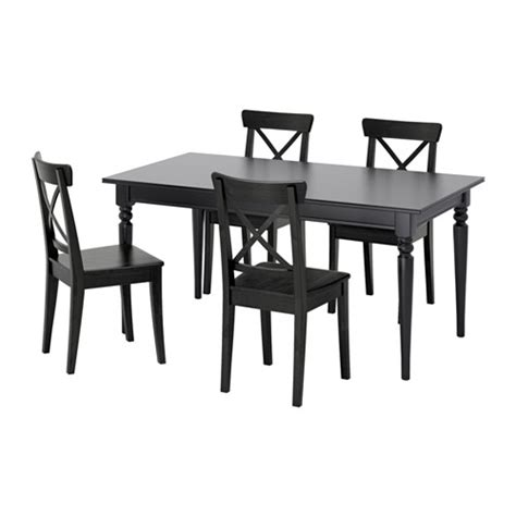 Meja Makan Di Ikea ingatorp ingolf meja dan 4 kerusi ikea