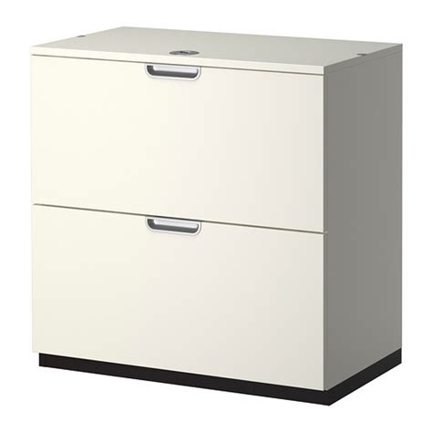 Two Drawer Filing Cabinet Ikea Ikea Galant 2 Drawer Filing Cabinet White Ebay