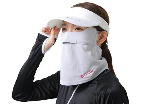 Masker Leher ramai di jepang wanita pakai masker wajah yang lebarnya