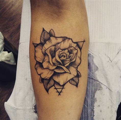 old rose tattoo black and white www pixshark com