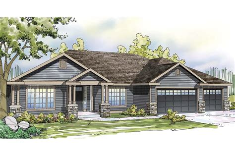 Ranch Home Plan by Ranch House Plans Oak Hill 30 810 Associated Designs