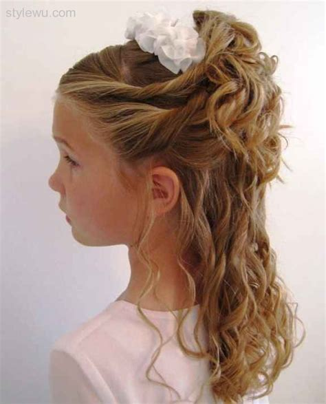 curly hairstyles half up half down for school exclusive half up and half down hairstyles for little