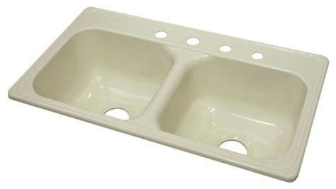 Kitchen Sinks For Mobile Homes Kitchen Sink 33 Quot L X 19 Quot W Manufactured Mobile Home Acrylic 9 Quot Four Faucet Modern
