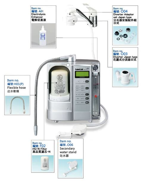 Sd501 Kangen Water enagic sd501 platinum