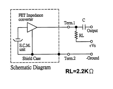 how capacitor works in microphone microphone capacitor value electrical engineering stack exchange